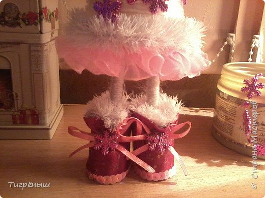Вечер добрый всем . Мои первые новогодние ёлочки в разгар весны )) Делала в январе их фото 5