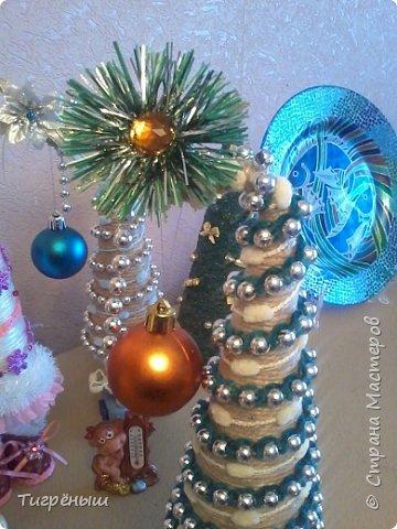 Вечер добрый всем . Мои первые новогодние ёлочки в разгар весны )) Делала в январе их фото 7