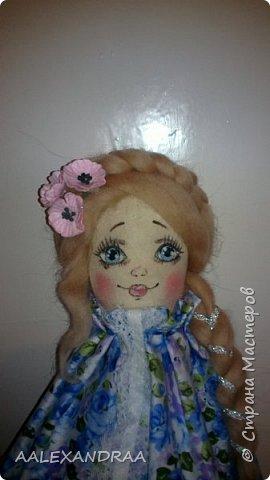 Добрый вечер Всем!!! Представляю вашему вниманию,ещё одну куколку с рисованным личиком.  фото 4