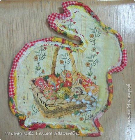 Пасхальный сувенир делали в прошлом году. фото 1