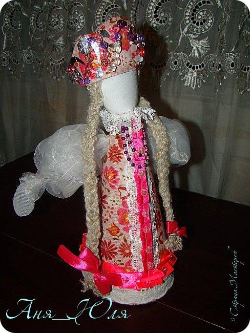 """Всем привет! Был у нас в школе проект по технологии """"Кукольный хоровод"""". Надо было сделать кукол в народных костюмах, и чтобы все были разные. Вот что у нас получилось. фото 4"""