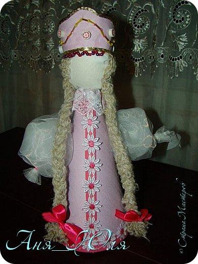 """Всем привет! Был у нас в школе проект по технологии """"Кукольный хоровод"""". Надо было сделать кукол в народных костюмах, и чтобы все были разные. Вот что у нас получилось. фото 6"""