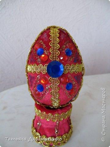 Всем, здравствуйте!Очень понравились Пасхальные яйца,сделанные Светланой Хачиной и её дочерью Радмилой.  http://stranamasterov.ru/node/709253  Вот решилась сделать фото 35