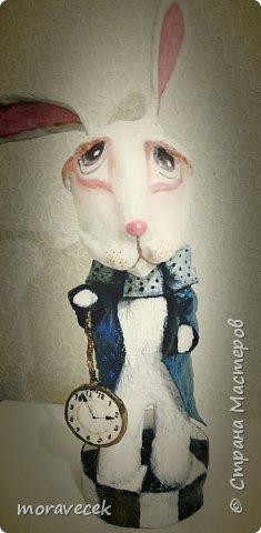 """Собралась делать коллекцию персонажей """"Алиса в стране чудес"""". Кролик первый)) фото 1"""