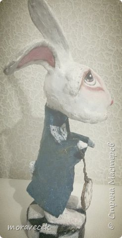 """Собралась делать коллекцию персонажей """"Алиса в стране чудес"""". Кролик первый)) фото 2"""