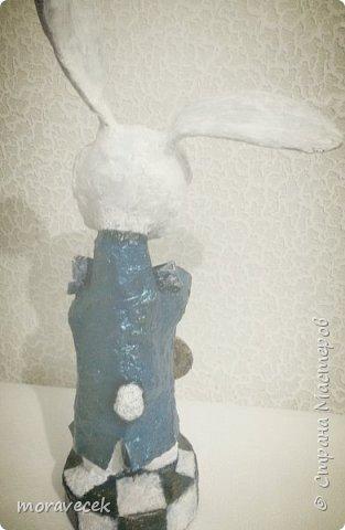 """Собралась делать коллекцию персонажей """"Алиса в стране чудес"""". Кролик первый)) фото 3"""