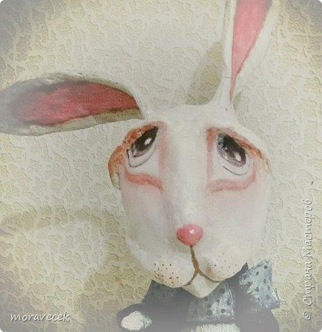 """Собралась делать коллекцию персонажей """"Алиса в стране чудес"""". Кролик первый)) фото 4"""