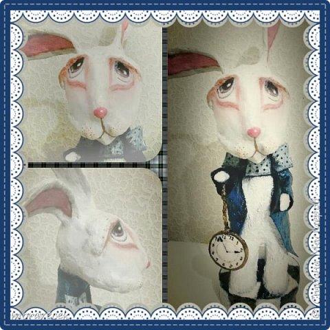 """Собралась делать коллекцию персонажей """"Алиса в стране чудес"""". Кролик первый)) фото 5"""