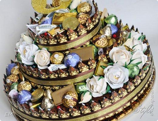 Вот такой торт мужчине у меня получился) фото 3