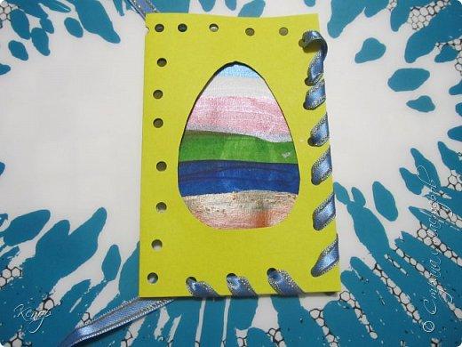 Всем добрый день!!!! У нас полным ходом идёт подготовка к Пасхе. Хотим  показать вам , как мы делаем пасхальные открыточки. фото 7
