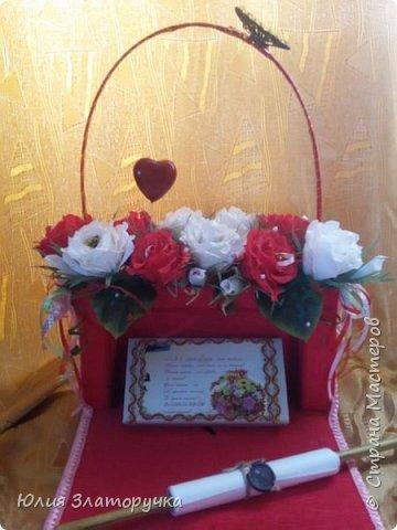 Эту сумочку я делала для своей подружки фото 1