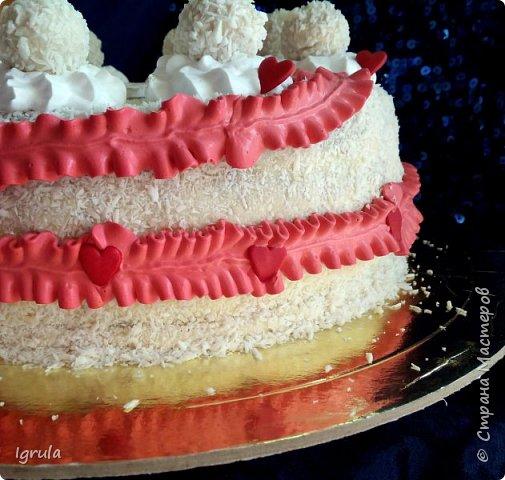"""Всем привет, кто заглянул.. Месяц был богат тортами для своих.. А свои уже мастики наелись так, что осваиваем крем потихоньку (бросайте в меня камни не сильно) Первый тортик был на день рождения свёкра.. Людей намечалось много... Вот и тортик такой... Не маленький Вес 9кг. Внутри """"тропиканка"""" (https://stranamasterov.ru/node/788418) фото 9"""