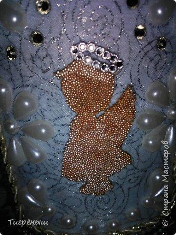 Бутылочка для святой воды в подарок Лизоньке на пасху.  фото 12