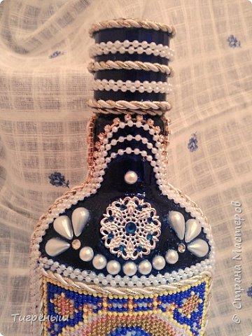 Бутылочка для святой воды в подарок Лизоньке на пасху.  фото 4