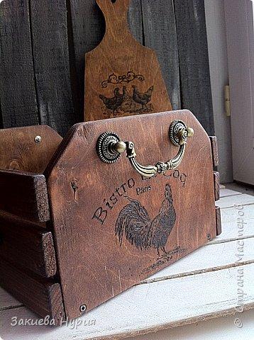 Здравствуй , Страна! продолжаю тему моих деревянных хотелок.  Очередной короб для чего угодно (лук, овощи, фрукты) фото 3