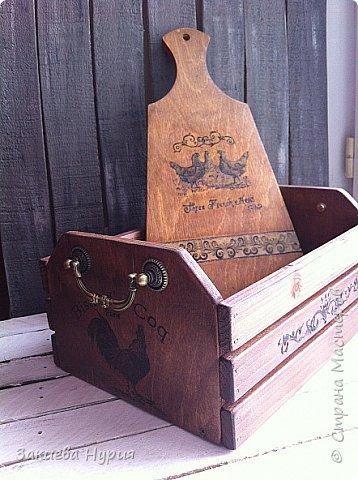 Здравствуй , Страна! продолжаю тему моих деревянных хотелок.  Очередной короб для чего угодно (лук, овощи, фрукты) фото 4