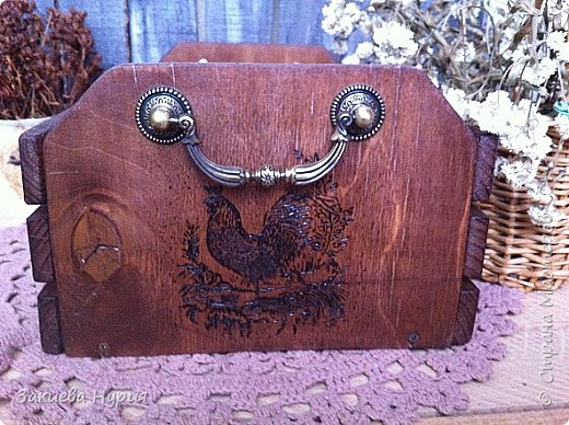 Здравствуй , Страна! продолжаю тему моих деревянных хотелок.  Очередной короб для чего угодно (лук, овощи, фрукты) фото 6