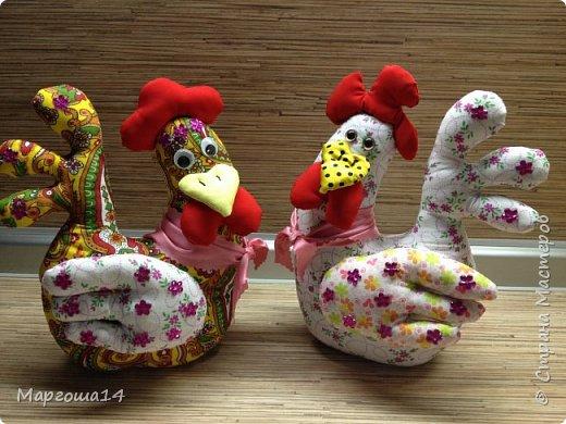 Привет ,Страна Мастеров! Показываю своих курочек,которых сшила на подарки к Пасхе. фото 1
