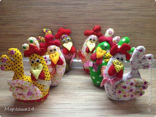 Привет ,Страна Мастеров! Показываю своих курочек,которых сшила на подарки к Пасхе. фото 9