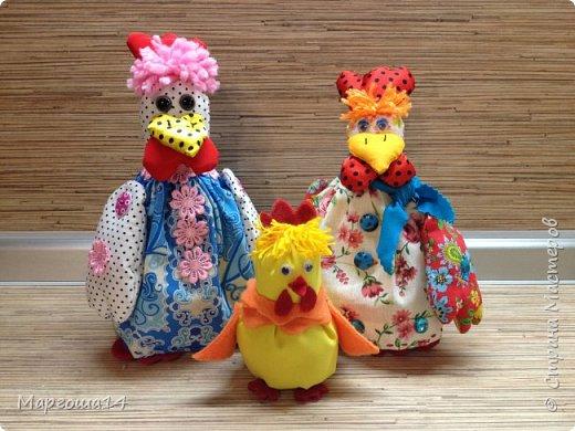 Привет ,Страна Мастеров! Показываю своих курочек,которых сшила на подарки к Пасхе. фото 12