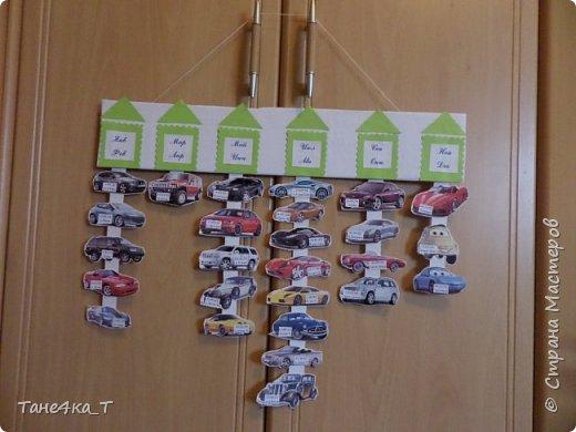 Здесь использовались любимы ладошки годовалого сынульки. Каждая ладошка месяц, на пальчиках даты рождения и именинник. фото 2