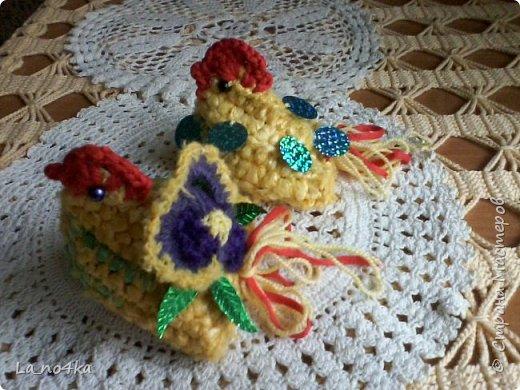 Пасхальные цыплята с сюрпризом фото 1