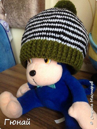 Простая, но очень красивая шапка. Вязала для сына. Будем самыми стильными на осень ;) фото 4
