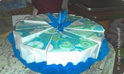 Бумажный торт