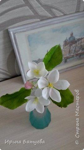 Яблоня. Холодный фарфор. фото 11