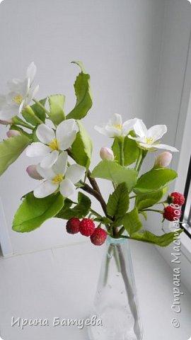 Яблоня. Холодный фарфор. фото 13