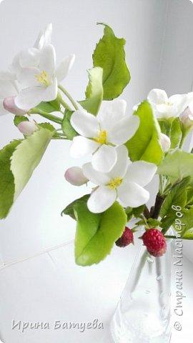 Яблоня. Холодный фарфор. фото 14