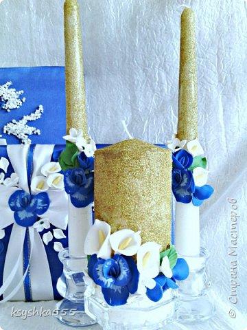 "Свадебный мини набор ""Синяя орхидея"" фото 2"