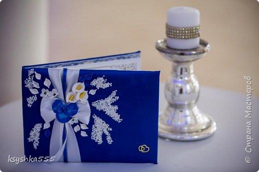 "Свадебный мини набор ""Синяя орхидея"" фото 5"