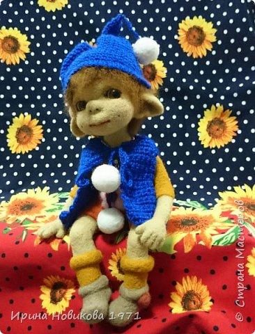 Авторская кукла Сонечка фото 5
