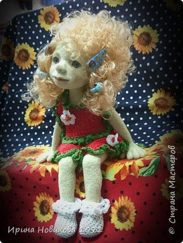 Авторская кукла Сонечка фото 4