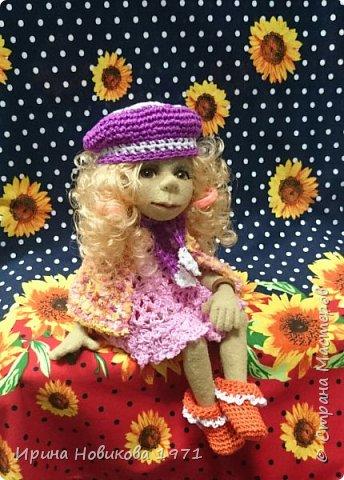 Авторская кукла Сонечка фото 3