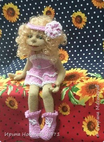 Авторская кукла Сонечка фото 2