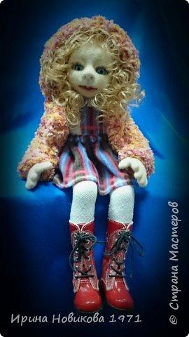 Авторская кукла Сонечка фото 1