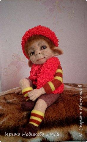 Авторская кукла Сонечка фото 8