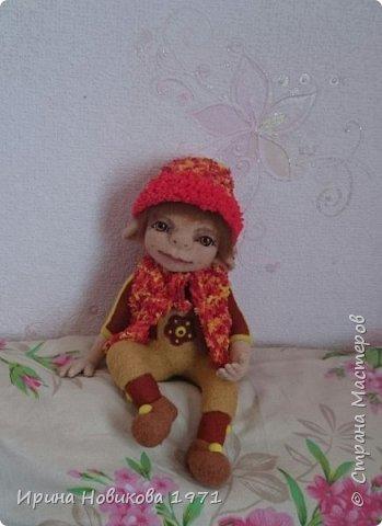 Авторская кукла Сонечка фото 6