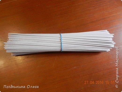 Продолжаю учиться. Не очень, но упорно (правда, медленно) плету.  Трубочки заламываются, хотя плету влажными, загибки угловатые. Но ничего, буду  осваивать искусство дальше. фото 6