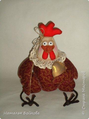 Вот такая Курочка с зотлотым яйцом у меня получилась по мк С.Рябоконь фото 4