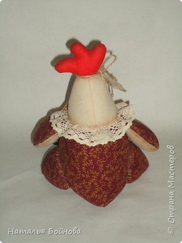 Вот такая Курочка с зотлотым яйцом у меня получилась по мк С.Рябоконь фото 3