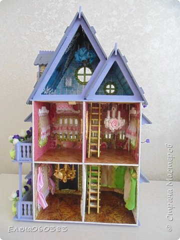 Продолжаю делать кукольные домики фото 4