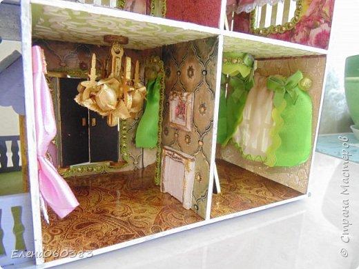 Продолжаю делать кукольные домики фото 6