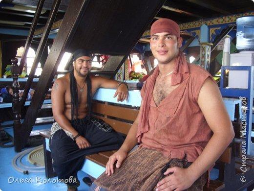 """Это """"пиратская"""" туристская яхта """"Sultan-2"""". Катает туристов в Хаммамете (Тунис). Я тоже купила экскурсию. фото 4"""