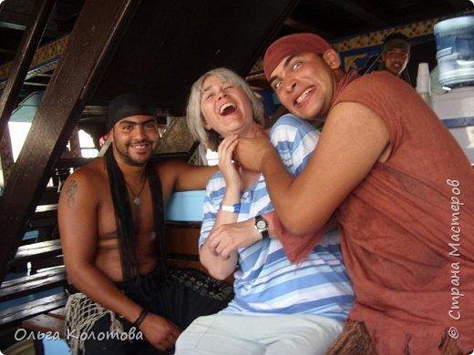 """Это """"пиратская"""" туристская яхта """"Sultan-2"""". Катает туристов в Хаммамете (Тунис). Я тоже купила экскурсию. фото 3"""