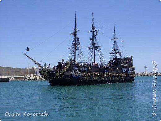 """Это """"пиратская"""" туристская яхта """"Sultan-2"""". Катает туристов в Хаммамете (Тунис). Я тоже купила экскурсию. фото 1"""