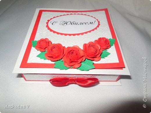 Конвертик делался на скорую руку, а вот цветочки я пробовала делать уже давно по МК Светланы http://stranamasterov.ru/node/321021 фото 2