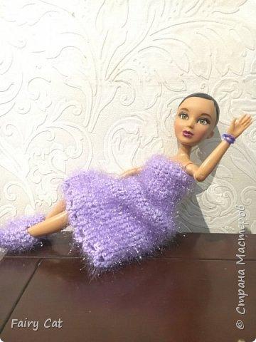 Привет, сегодня я познакомлю Вас с моей куклой Katy. Мы вместе покажем Вам, какие вещички я ей связала. фото 1